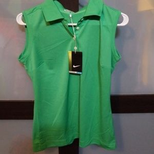 Nike ladies golf sleeveless shirt nwt